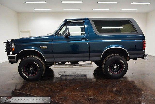 1995 Ford Bronco - Classic Car Liquidators