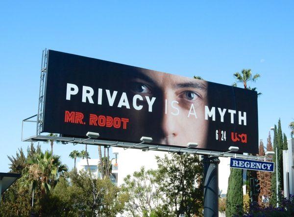 Mr. Robot series premiere billboard