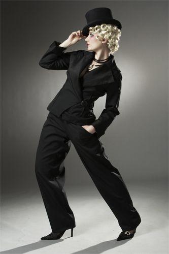 Jazz Moderne Jacket and La Garconne Pantalonne