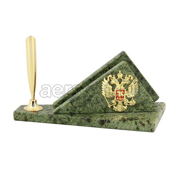 #Набор для #подписи ( #змеевик ) > http://www.aerston.ru/catalog/zmeevik/ При изготовлении набора использовался #природныйкамень: змеевик, #латунь, #бронза. Габаритные размеры: 17 х 8 х 7 см. Так же Вы можете это изделие #заказать с ювелирными камнями, полностью в #золоте, #серебре, по Вашим эскизам, с #дарственной надписью. Время изготовления работ от 1 месяца до 2-х месяцев. #набордляподписи #подписчики #подпись #подписка #подписки #камень #природа #герб #герброссии #россия🇷🇺 #директор…