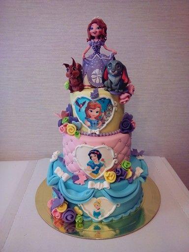 Детский торт с Софией