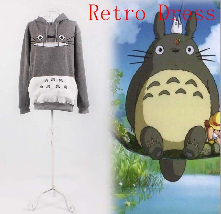hot 3D thick sweatshirt harajuku cartoon totoro animal print Women  Suit Hoodie Spring/Autumn PicachoHoodie Outside clothes #Affiliate
