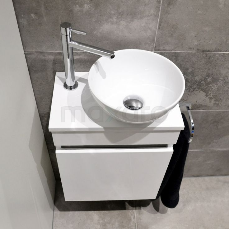 Toiletfontein, betonlook tegels toilet