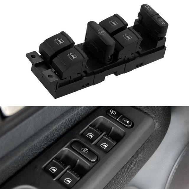 New Car Window Switch Window Panel Door Master Switch Control For Vw Jetta Golf Mk4 Passat B5 B5 5 For Volkswagen Bora Review Vw Jetta New Cars Volkswagen