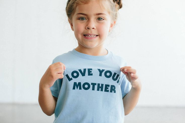 Love Your Mother children's t-shirt, by The Bee & The Fox