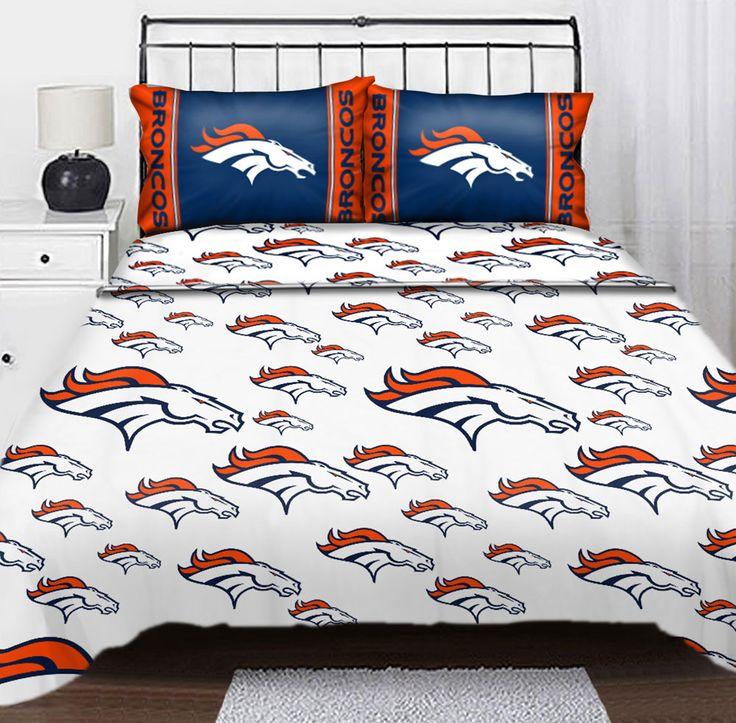 447 best images about denver broncos on pinterest denver for Denver broncos bedroom ideas