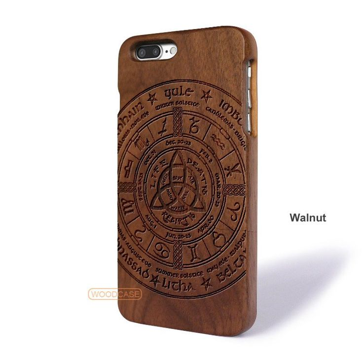 Aztec Tribe iPhone 7 Plus Case - iPhone 7 Plus Solid Total Wood Case - ADTRG0107