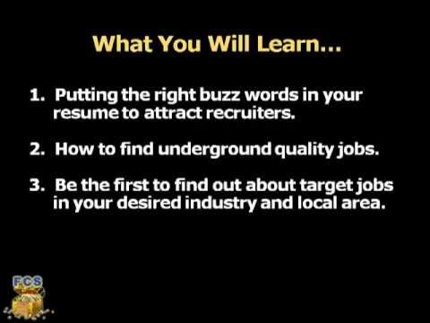 How to Make a Resume by David Green on For Career Success.  On youtube and wikihow.  Important advice