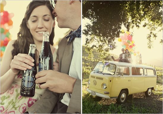Up inspired engagement shoot. the most popular post ever on weddingchicks.com by wildflowersphotos.com