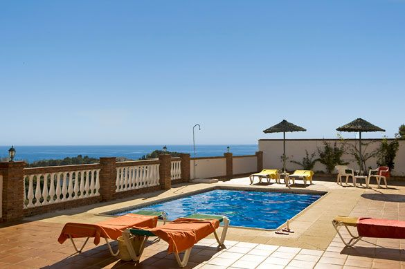 Villa Tres Olivos, Nerja, Costa del Sol, Spain. Find more at www.villaplus.com