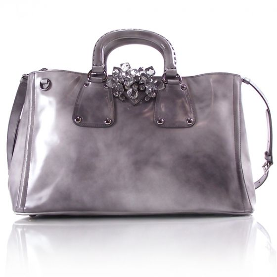 prada handbags green - PRADA Spazzolato Crystal Tote. | Fifty Shades of Gris | Pinterest ...