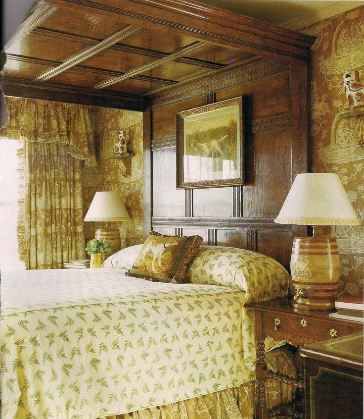English bedroom manor house pinterest for English country bedrooms