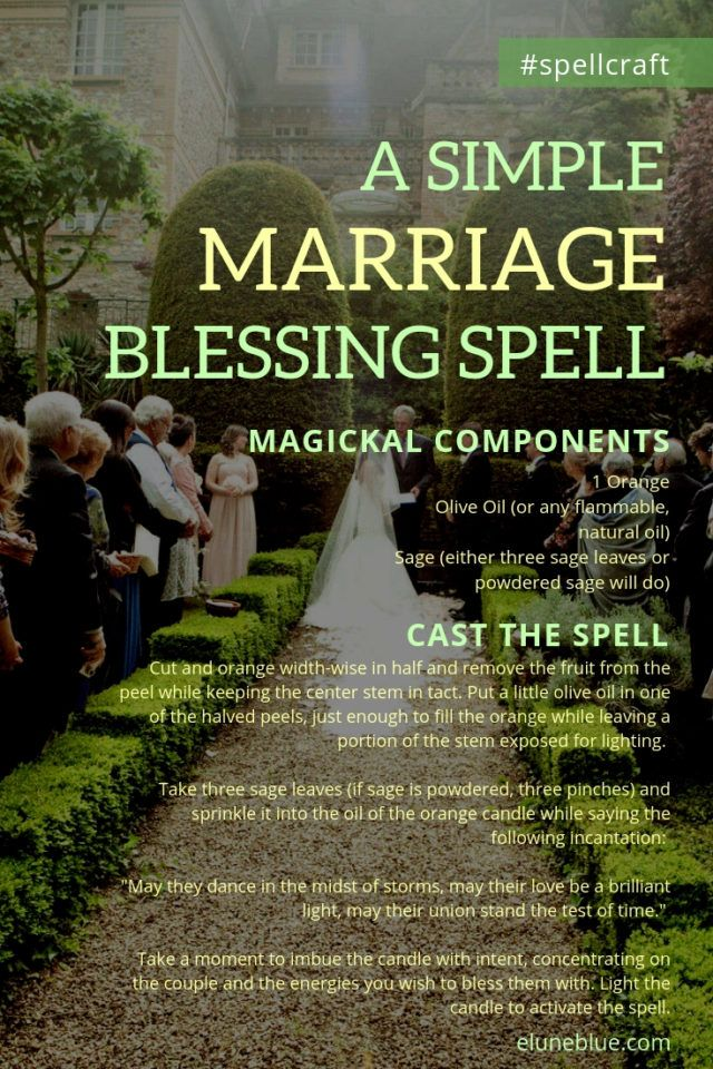 A Simple Marriage Blessing Spell Spellcraft Recipe Spellcraft Wiccan Wedding Marriage Tips