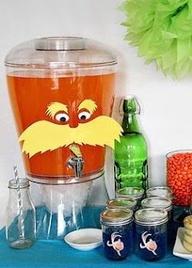 Dr Seuss shower or party idea