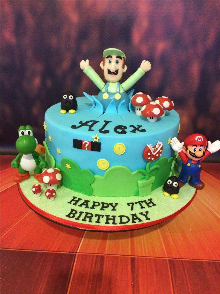 Luigi Birthday cake.