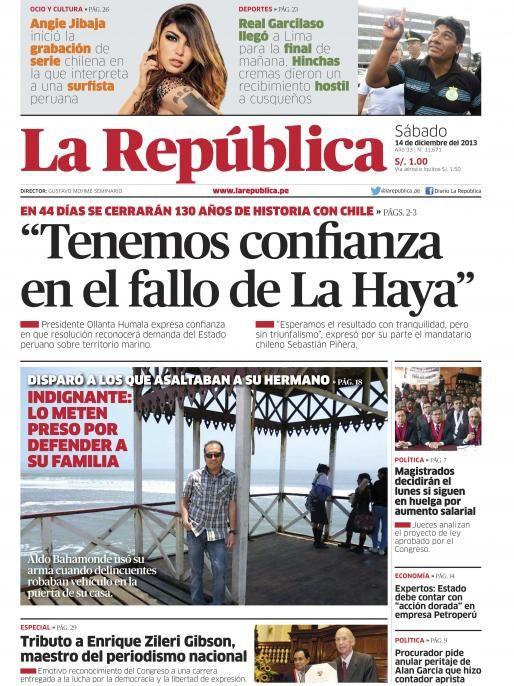 LaRepublica Lima - 14-12-2013