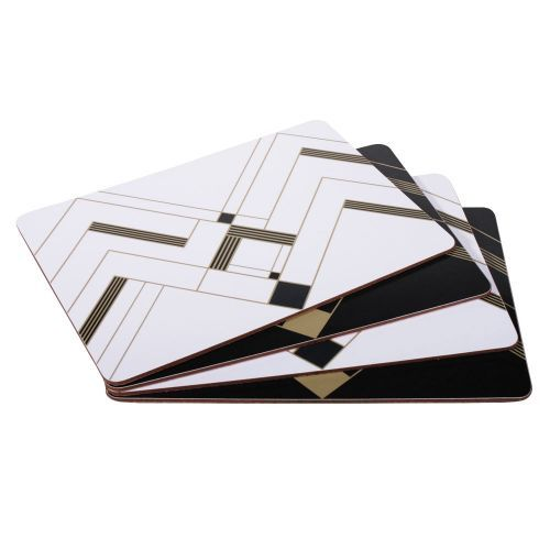 Art Deco Placemats - Set  of 4 from Custom works. Buy from the online gift shop at English Heritage.