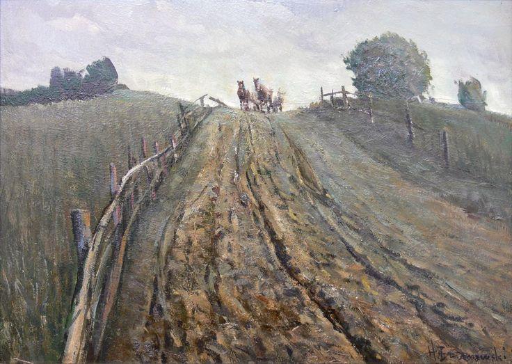 HenrykBaranowski:Pejzażzdrogą