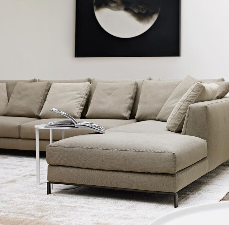 ray sofa with blanket stitching. Black Bedroom Furniture Sets. Home Design Ideas