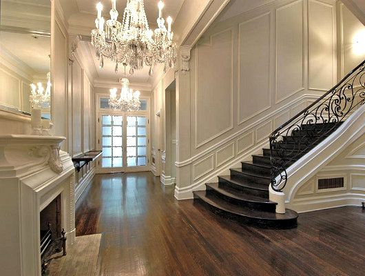 Grand Foyer Entrance : Images about moulding up the stairs on pinterest