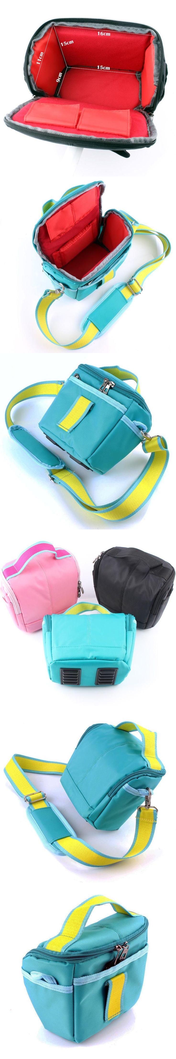 NEW Blue Camera Case Bag For Sony RX10 II H400 HX400 HX300 HX100 HX10 A77 II 7R A6300 A3000 A5100 A5000 A6000 NEX6 NEX5