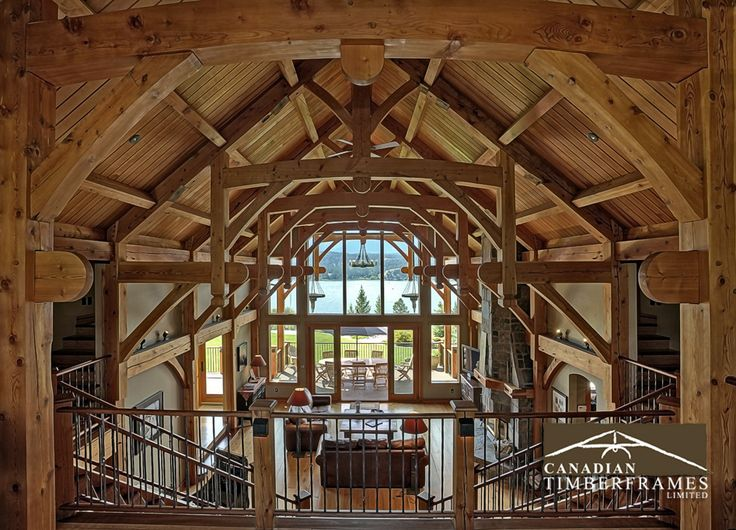 exquisite timber frame architecture