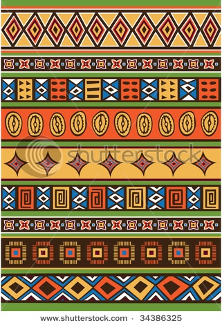 African Pattern. Could be good way to divide negative quilting space & patterns                                                                                                                                                      Más