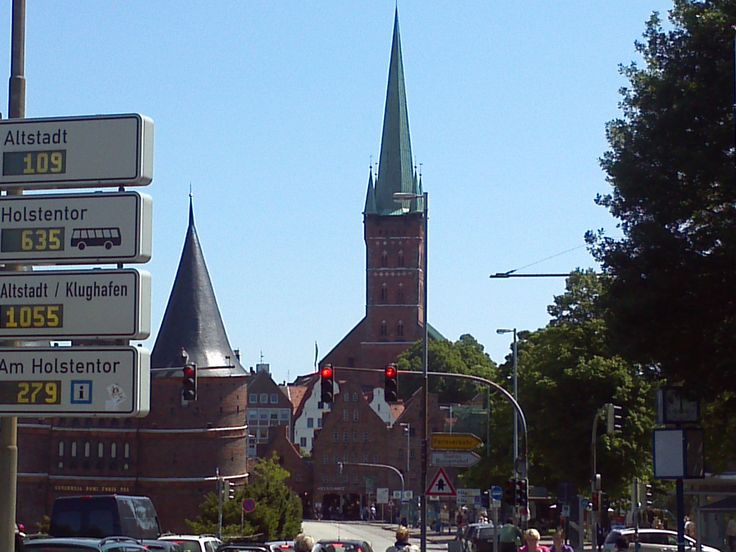 Luebeck, Germany (By the Holstentor)