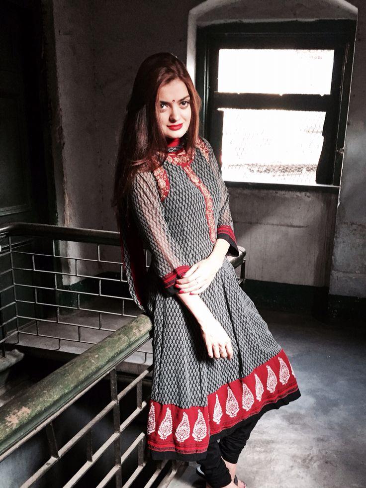 Indian fashion. Lengha dress.