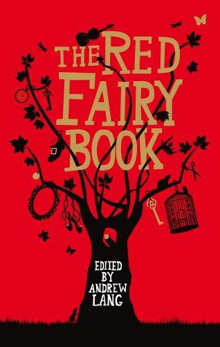 """The Red Fairy Book (Fairy Books) by Andrew Lang (K 368) Once upon a time, in the middle of winter when the snow-flakes were falling like feathers on the earth, a Queen sat at a window framed in black ebony and sewed. And as she sewed and gazed out to the white landscape, she pricked her finger with the needle, and three drops of blood fell on the snow outside…  Andrew Lang began gathering fairy tales with the aim of conserving """"the old stories that have pleased so many generations."""""""