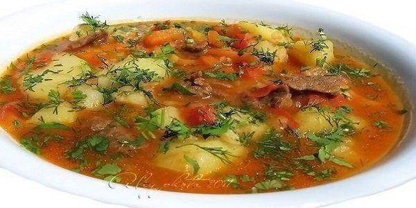 Шурпа Этот суп пришел к нам с Востока. Он прост в приготовлении и порадует вас и ваших близких своим насыщенным ярким вкусом