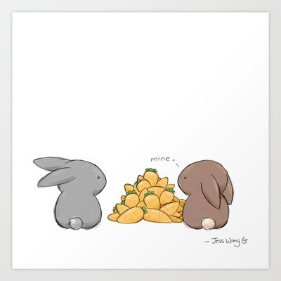 Mine Art Print by Jess Wong - $16.00