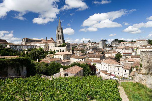 Saint Emilion (Bordeaux region, France) - the wine is fantastic