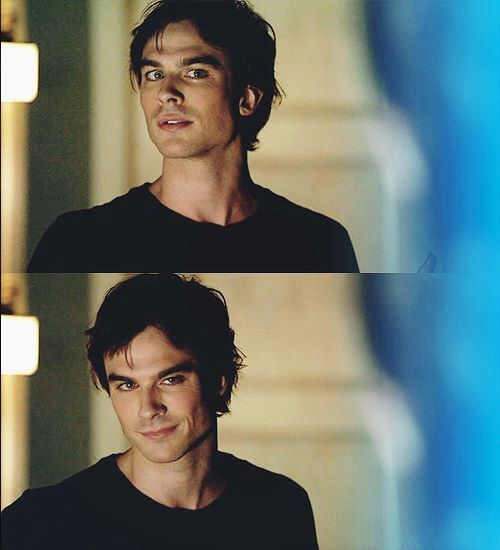 The Damon face. Damon Salvatore - The Vampire Diaries ♥