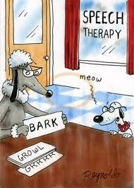 Speech therapy....@Amy Unger  @Laura Goblinger