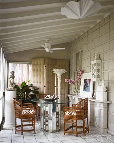 Palm Beach Chic Circa 1990s: Palm Beach Interior Design: Larry Laslo At Home
