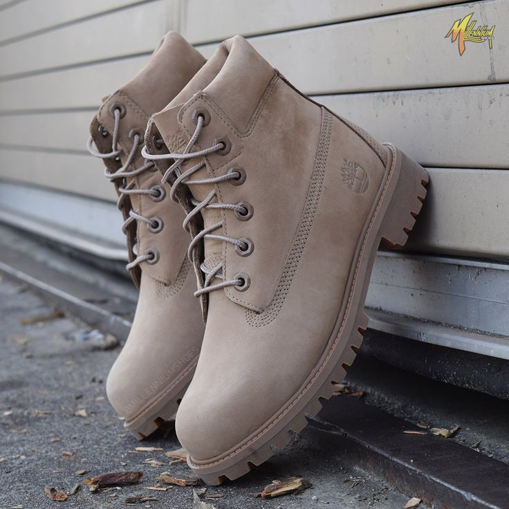 Timberland boots continue their strong surge and are a must have pair of shoes year round. These light brown boots are a nice change from the normal wheat color we've associated Timbs with. These are available now in women's/ gradeschool sizes. Click the link for purchasing info.