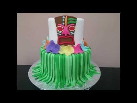 How to: Luau Themed Cake Tutorial!