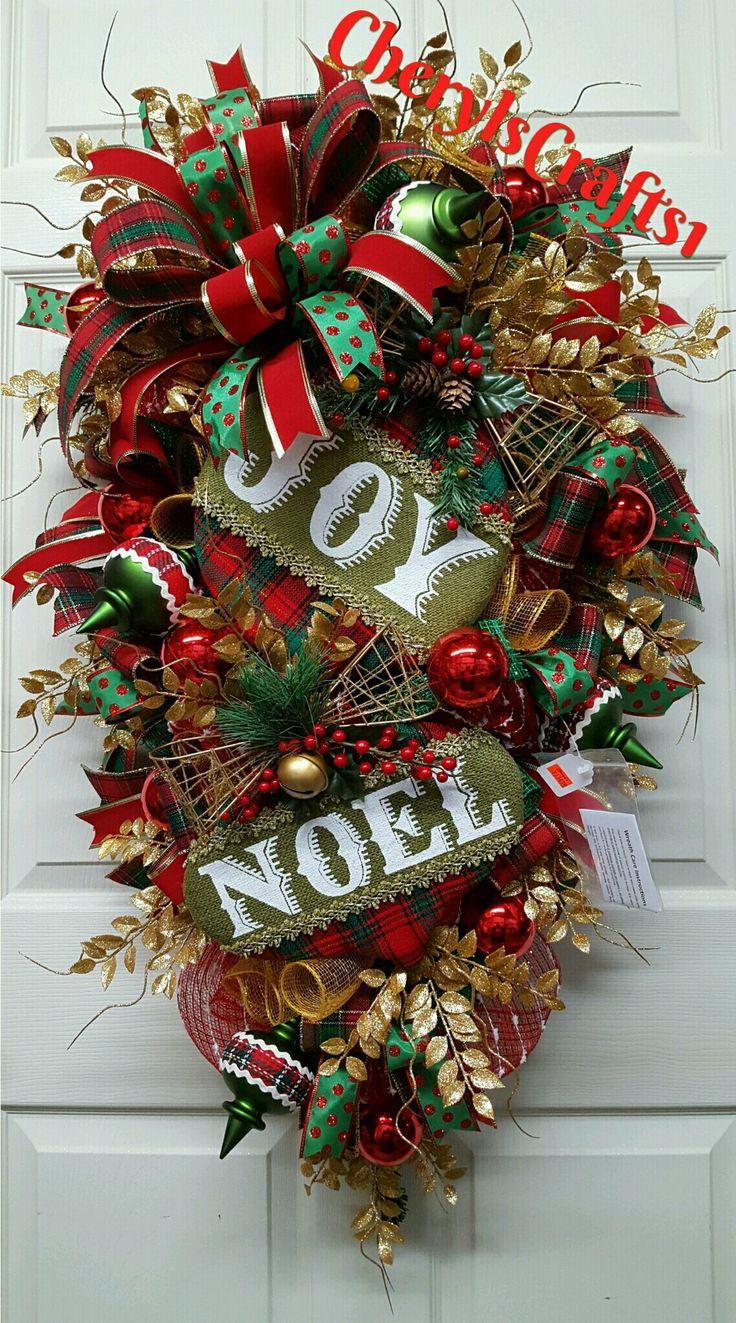 1053 best Wreaths images on Pinterest   Fall wreaths, Deco mesh ...
