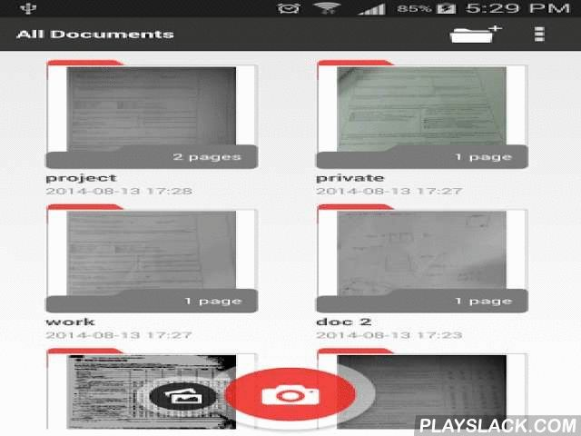 A+ Document Scanner – WISeScan  Android App - playslack.com , WISeScan is a professional multipage scanner app for documents, notes, whiteboards, receipts, and other text. Quickly scan multi-page documents, and save them in the app archive, and then send them as image files (JPG), in a zip archive (which can even be encrypted!), or a PDF file.- WISeScan features great sharpness and accuracy- It's a valuable tool that you will love!- Produces really high quality copier like scansWISeScan's…