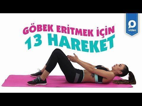 Kadınlar İçin Göbek Eritme Egzersizleri - 1 Haftada Etkili - YouTube