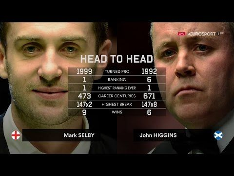 MAX SPORTS: SNOOKER: MARK SELBY VS. JOHN HIGGINS FINAL WORLD C...