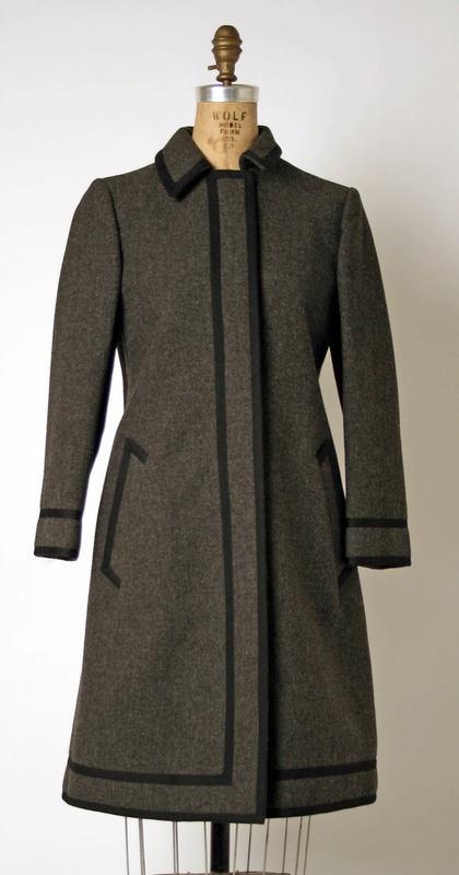 Dress Geoffrey Beene (American) ca. fall/ winter 1968-69 wool