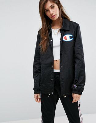 639c681c Champion Oversized Coach Jacket   Style   Streetwear jackets ...