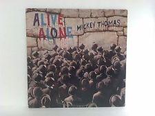 Mickey Thomas LP Alive Alone 1981 White Label Promo VG+