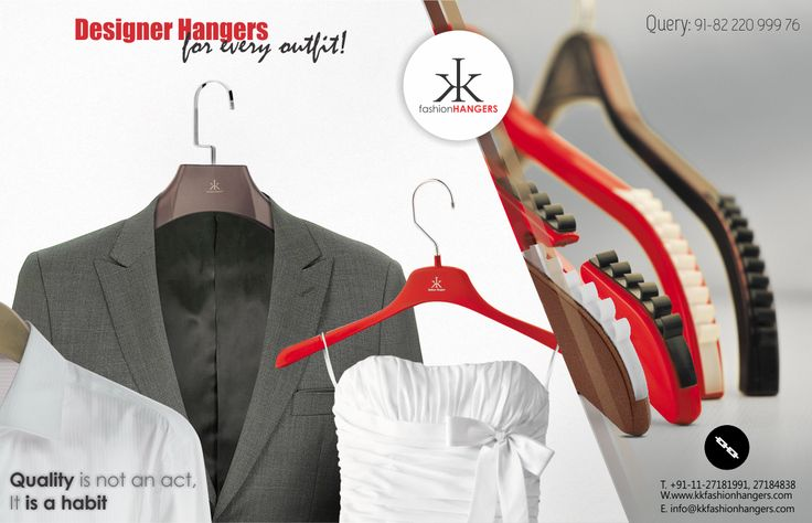 Designer Hangers for Every Outfit