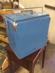 Coca-Cola Cooler with tray in excellent shape! Red Deer Alberta image 1