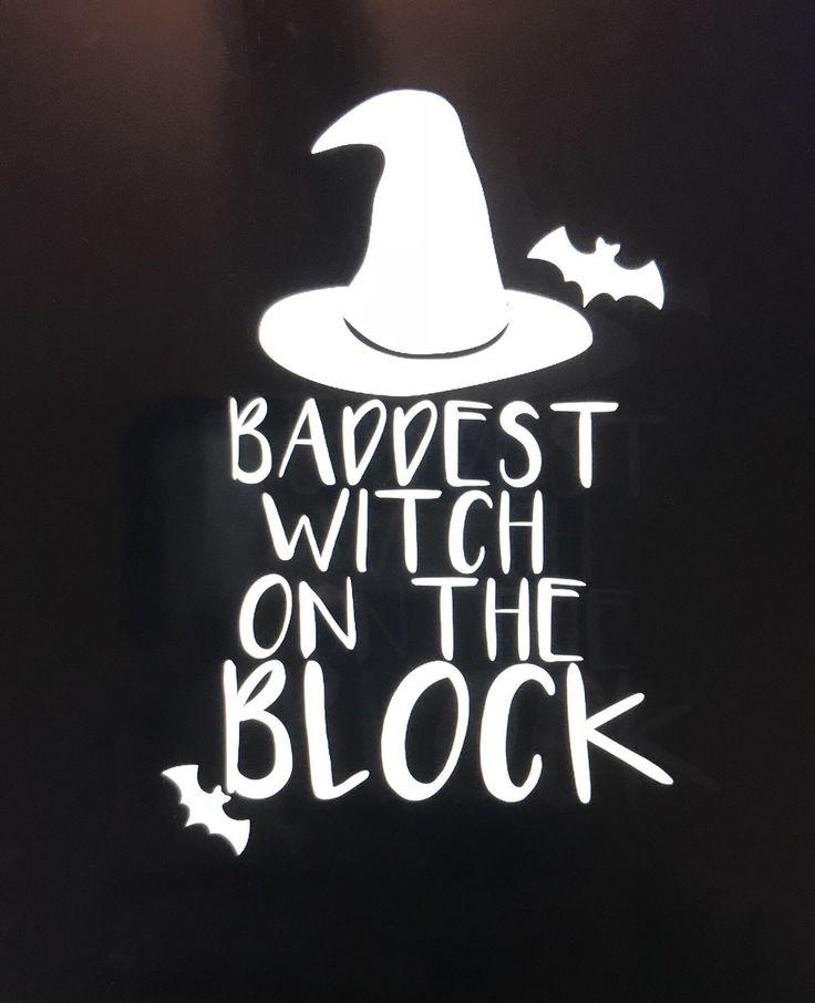 Baddest witch on the block halloween shirt witch shirt