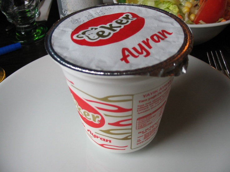 Ayran for ever!-Refreshing yogurt based beverage mixed with water and salt.