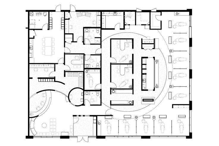 13 best clinic floor plans images on pinterest floor for Interactive office floor plan